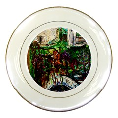 Gatchina Park 4 Porcelain Plates by bestdesignintheworld