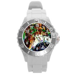Gatchina Park 1 Round Plastic Sport Watch (l) by bestdesignintheworld