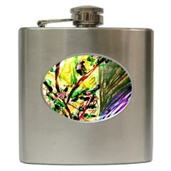 House Will Be Buit 4 Hip Flask (6 Oz) by bestdesignintheworld