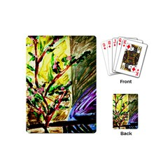 House Will Be Buit 4 Playing Cards (mini)  by bestdesignintheworld