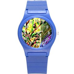 House Will Be Buit 4 Round Plastic Sport Watch (s) by bestdesignintheworld