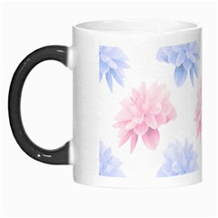 Blue And Pink Flowers Vector Clipart Morph Mugs