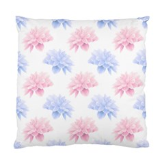 Blue And Pink Flowers Vector Clipart Standard Cushion Case (two Sides) by goodart