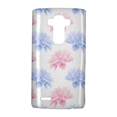 Blue And Pink Flowers Vector Clipart Lg G4 Hardshell Case by goodart