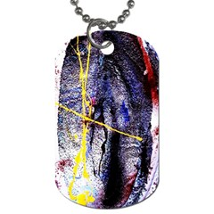 Egg In The Duck   Needle In The Egg 7 Dog Tag (one Side) by bestdesignintheworld