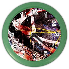 Egg In The Duck   Needle In The Egg 4 Color Wall Clocks
