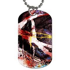 Egg In The Duck   Needle In The Egg 4 Dog Tag (one Side) by bestdesignintheworld