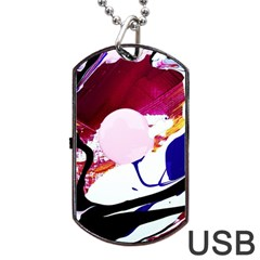 Immediate Attraction 8 Dog Tag Usb Flash (two Sides) by bestdesignintheworld