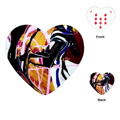 Immediate Attraction 2 Playing Cards (heart)  by bestdesignintheworld
