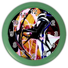Immediate Attraction 2 Color Wall Clocks by bestdesignintheworld