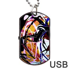 Immediate Attraction 2 Dog Tag Usb Flash (two Sides) by bestdesignintheworld