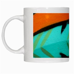 Abstract Art Artistic White Mugs by Modern2018