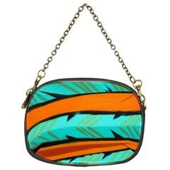 Abstract Art Artistic Chain Purses (one Side)  by Modern2018