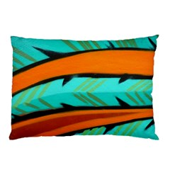Abstract Art Artistic Pillow Case by Modern2018