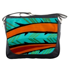 Abstract Art Artistic Messenger Bags by Modern2018