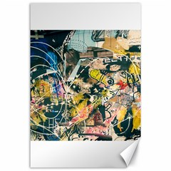 Abstract Art Berlin Canvas 24  X 36  by Modern2018