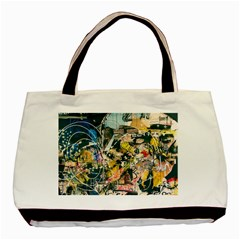 Abstract Art Berlin Basic Tote Bag (two Sides) by Modern2018