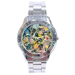 Abstract Art Berlin Stainless Steel Analogue Watch by Modern2018