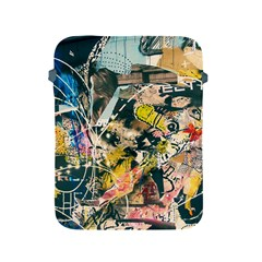 Abstract Art Berlin Apple Ipad 2/3/4 Protective Soft Cases by Modern2018