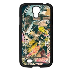 Abstract Art Berlin Samsung Galaxy S4 I9500/ I9505 Case (black) by Modern2018