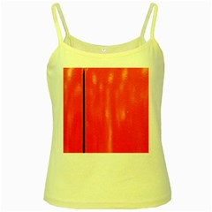 Abstract Orange Yellow Spaghetti Tank by Modern2018