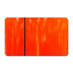 Abstract Orange Magnet (rectangular) by Modern2018