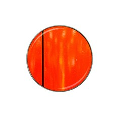 Abstract Orange Hat Clip Ball Marker by Modern2018