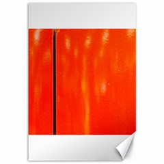Abstract Orange Canvas 12  X 18   by Modern2018