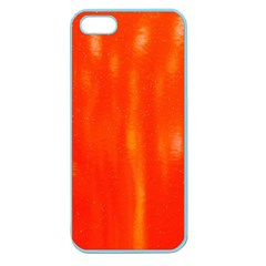 Abstract Orange Apple Seamless Iphone 5 Case (color) by Modern2018