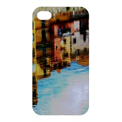 Architecture Art Blue Apple Iphone 4/4s Hardshell Case by Modern2018