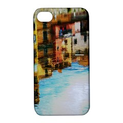 Architecture Art Blue Apple Iphone 4/4s Hardshell Case With Stand by Modern2018