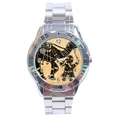Antique Apparel Art Stainless Steel Analogue Watch by Modern2018