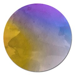 Abstract Smooth Background Magnet 5  (round) by Modern2018