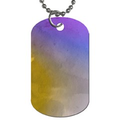 Abstract Smooth Background Dog Tag (one Side) by Modern2018