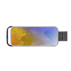 Abstract Smooth Background Portable Usb Flash (two Sides) by Modern2018