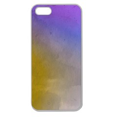 Abstract Smooth Background Apple Seamless Iphone 5 Case (clear) by Modern2018