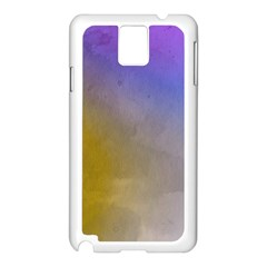 Abstract Smooth Background Samsung Galaxy Note 3 N9005 Case (white) by Modern2018