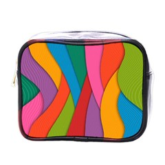 Abstract Background Colrful Mini Toiletries Bags by Modern2018