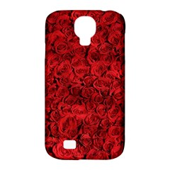 Arranged Flowers Love Samsung Galaxy S4 Classic Hardshell Case (pc+silicone) by goodart