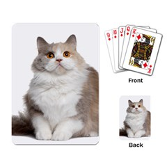 Cutefat Cat  Playing Card by goodart