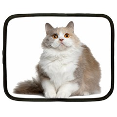 Cutefat Cat  Netbook Case (large) by goodart