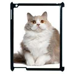 Cutefat Cat  Apple Ipad 2 Case (black) by goodart
