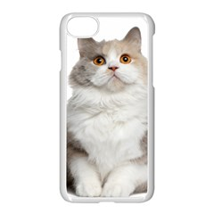 Cutefat Cat  Apple Iphone 8 Seamless Case (white) by goodart