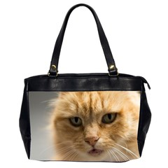 Animal Pet Cute Close Up View Office Handbags (2 Sides)  by goodart