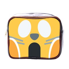 Cat Emoji  Mini Toiletries Bags