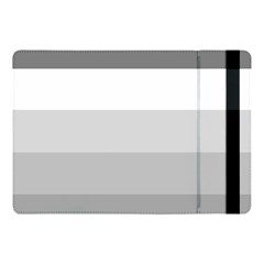 Elegant Shades Of Gray Stripes Pattern Striped Apple Ipad Pro 10 5   Flip Case by yoursparklingshop