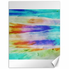Background Color Splash Canvas 12  X 16   by goodart