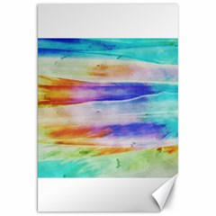 Background Color Splash Canvas 20  X 30   by goodart