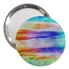 Background Color Splash 3  Handbag Mirrors by goodart