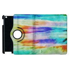 Background Color Splash Apple Ipad 3/4 Flip 360 Case by goodart